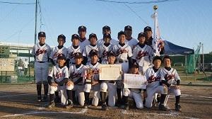 愛知県知事杯優勝しました!